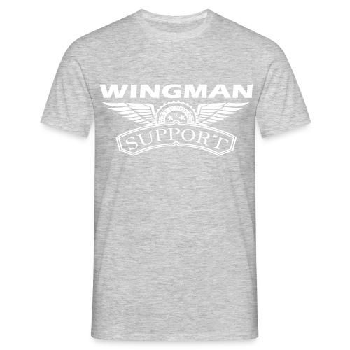 Wingman support - Mannen T-shirt