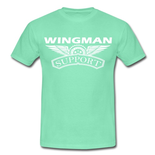 Wingman support - Mannen T-shirt