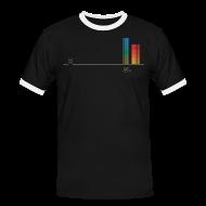T-Shirts ~ Männer Kontrast-T-Shirt ~ dwh – 1974–2016 Architektur, Köln