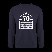 70. Geburtstag Eigenschaften Pullover