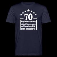 70. Geburtstag Eigenschaften Bio T-Shirt