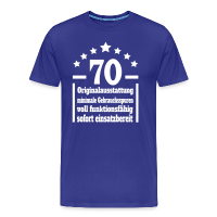 70. Geburtstag Eigenschaften T-Shirt