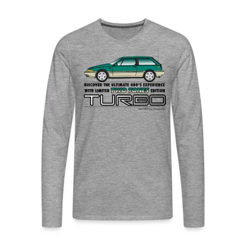 Sweat-shirt homme TTT - T-shirt manches longues Premium Homme