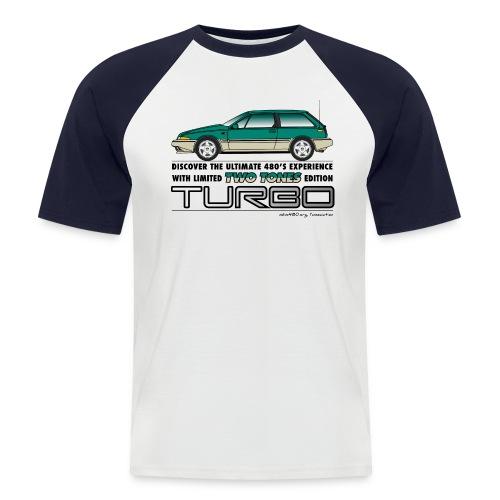 T-shirt vintage homme TTT - T-shirt baseball manches courtes Homme