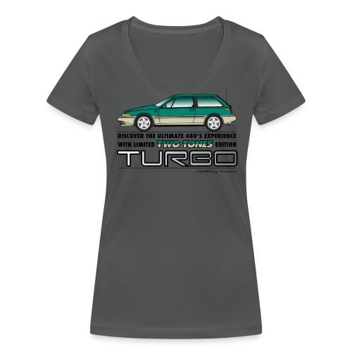 T-shirt col V femme TTT - T-shirt bio col V Stanley & Stella Femme