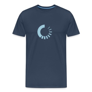 Buffering Symbol - Men's Premium T-Shirt
