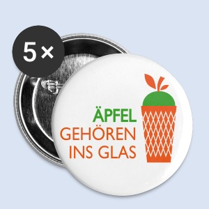 Äpfel gehören ins Glas