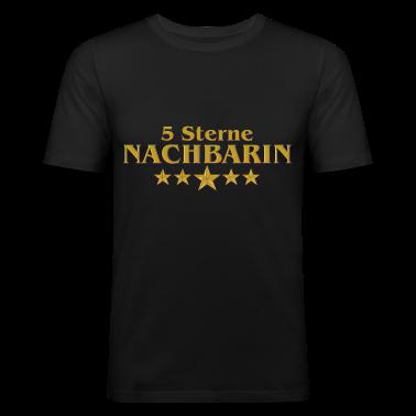 5 sterne nachbarin t shirt spreadshirt. Black Bedroom Furniture Sets. Home Design Ideas