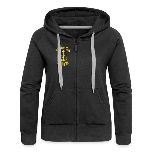Kapuzenjacke Frauen (schwarz) - Frauen Premium Kapuzenjacke