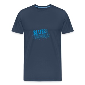 Blues and Trouble - Men's Premium T-Shirt