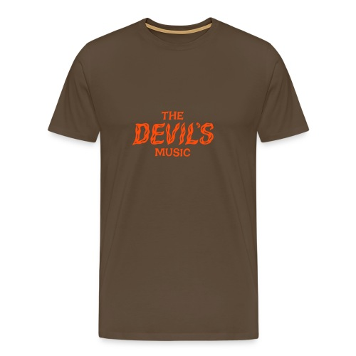The Devil's Music - Men's Premium T-Shirt
