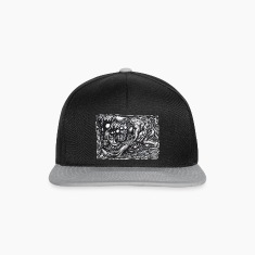 Grendel Mother Dream by Brian Benson, Snapback Cap