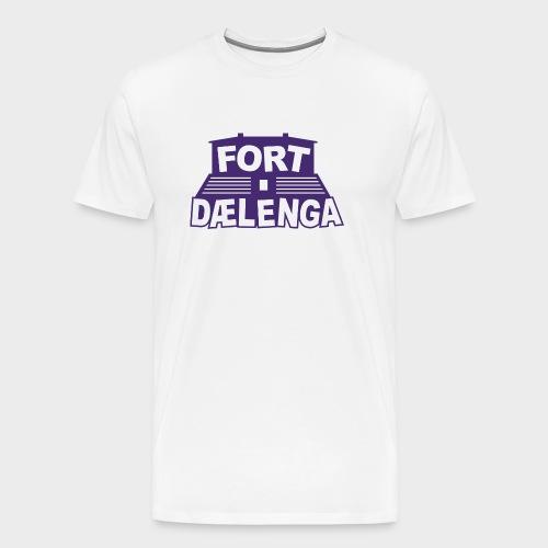 Fort Dælenga Tee - Premium T-skjorte for menn