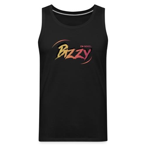 I'M SOO.. BIZZY (BLACK VEST) - Men's Premium Tank Top