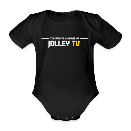 JOLLEYTV Babygrow - Organic Short-sleeved Baby Bodysuit