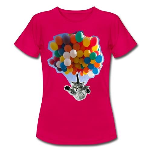 BALLOON CAT BLUE - Women's T-Shirt