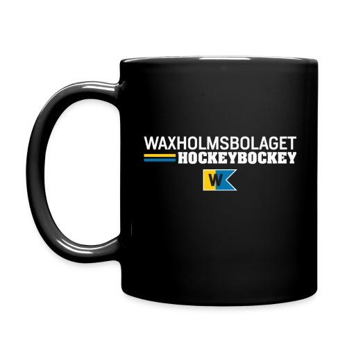 Mugg Waxholmsbolaget Hockeybockey - Enfärgad mugg
