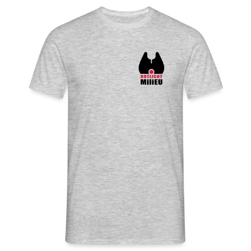 T-Shirt Rotlicht Milieu für Angler und Naturfreunde - Männer T-Shirt