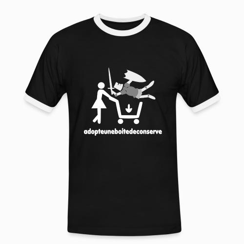 Tee Shirt Homme Bicolore adopteuneboitedeconserve - T-shirt contrasté Homme