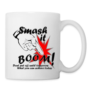 Smash it Boom Achieve - Mug
