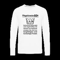 Pflegehinweise 60. Geburtstag Langarm Shirt