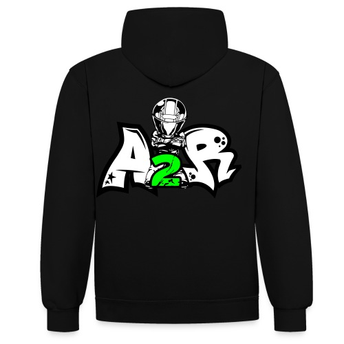 Sweat A2R Motard 1 Couleur - Sweat-shirt contraste