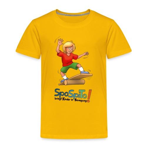 SpoSpiTo-T-Shirt für Kinder - Kinder Premium T-Shirt