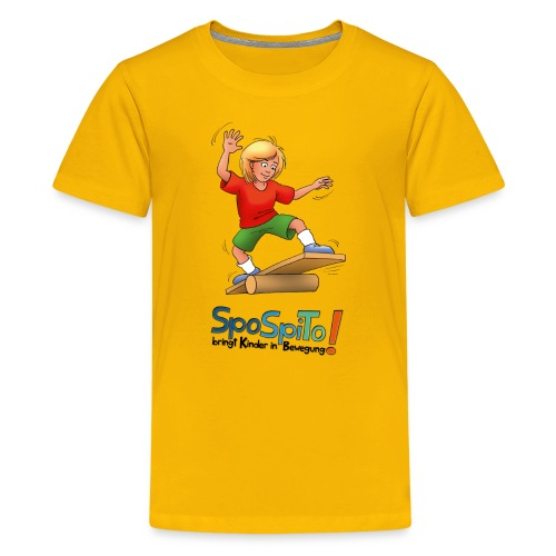 SpoSpiTo-T-Shirt für Kinder - Teenager Premium T-Shirt