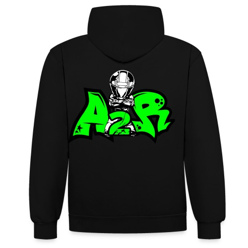 Sweat A2R Motard 2 Couleur - Sweat-shirt contraste