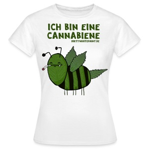 Cannabiene - Girls - Frauen T-Shirt