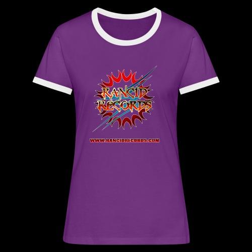 Rancid Records Women's Ringer T-Shirt - Women's Ringer T-Shirt