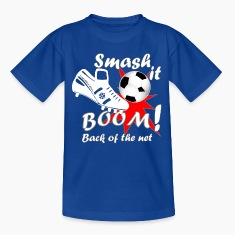 Smash it Boom Football Believe