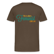 T-Shirts ~ Männer Premium T-Shirt ~ This is what a feminist looks like