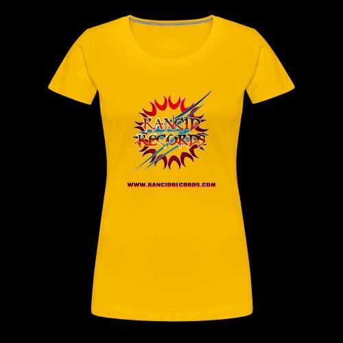 Rancid Records Women's T-Shirt - Women's Premium T-Shirt