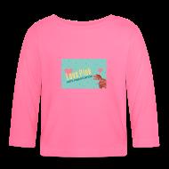 Baby Langarmshirts ~ Baby Langarmshirt ~ Baby-Langwarm-Shirt Love Pink
