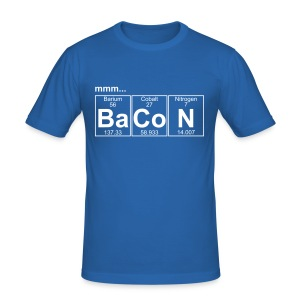 Ba-Co-N (bacon) - Full T-shirts - Herre Slim Fit T-Shirt