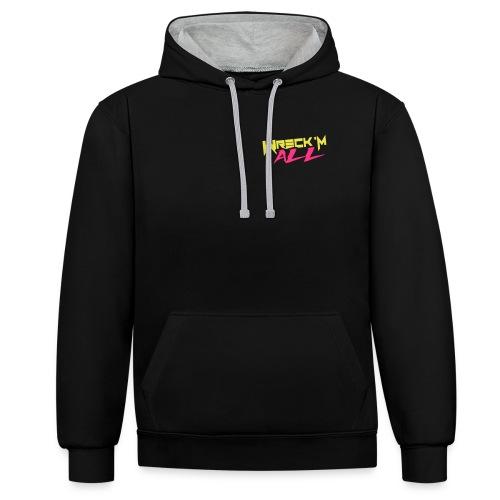 Wreck 'M All Hoodie - Contrast hoodie