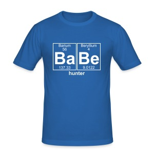 Babe hunter - Men's Slim Fit T-Shirt