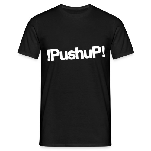 M !PushuP! LARGE CENTER - T-shirt Homme