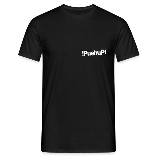 M !PushuP! TINY HEART W/B - T-shirt Homme