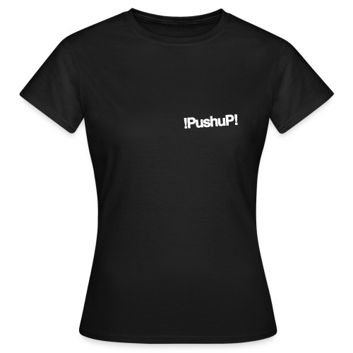 W !PushuP! TINY HEART W/B - T-shirt Femme