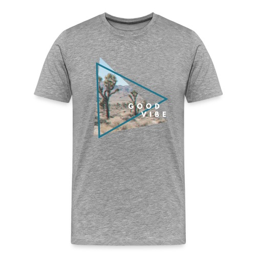 goodvibe summer desert - Männer Premium T-Shirt