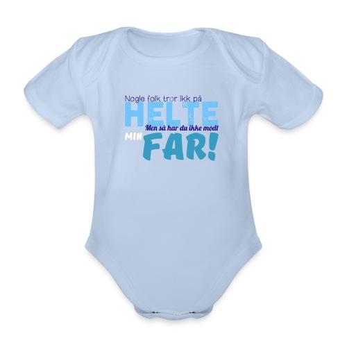 Nogle Folk Tror Ikke På Helte - Baby Body - Kortærmet babybody, økologisk bomuld