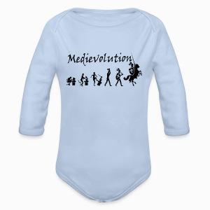 Body manches longues Medievolution - Body bébé bio manches longues