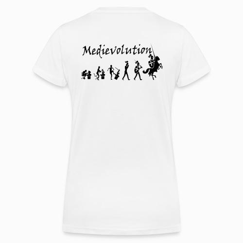 Tshirt col V Femme Medievolution - T-shirt bio col V Stanley & Stella Femme