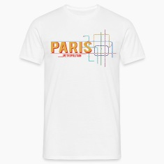 paris-metro-plan T-Shirts