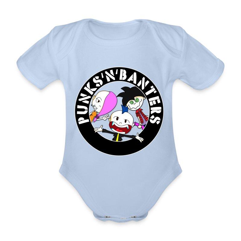 logo - Baby Bio-Kurzarm-Body