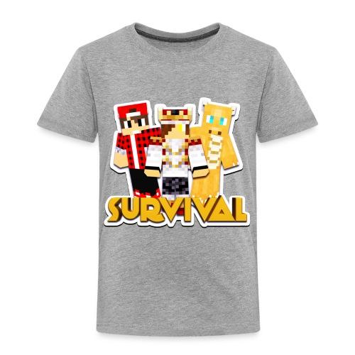 Minecraft Survival Helden Shirt - Kinderen Premium T-shirt