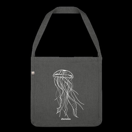 Deichdisko Tasche Jellyfish - Schultertasche aus Recycling-Material