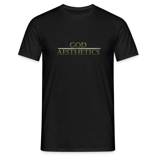 God Aesthetics T-Shirt - Black - Men's T-Shirt
